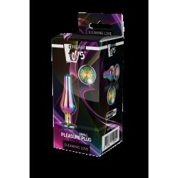 Diamond Vibro Stimulateur Strass noir
