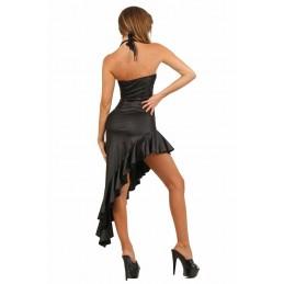 Bas Noirs Auto Fixant Spécial Ronde avec Couture